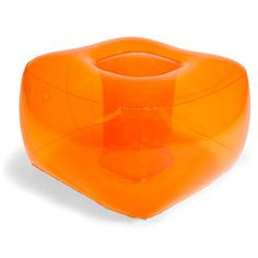 Inflatable Ottoman Orange, $13, now featured on Fab.