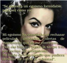 Egoismo María Félix diva mexicana