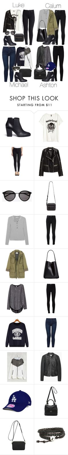 """""""5SOS Styles: Heeled Leather Ankle Boots (Autumn/Winter)"""" by fivesecondsofinspiration ❤ liked on Polyvore featuring Giuseppe Zanotti, Hudson Jeans, Yves Saint Laurent, Forever 21, Madewell, J.Crew, 3.1 Phillip Lim, Frame Denim, New Look and Without Walls"""