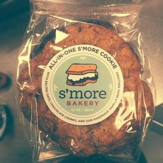 All-In-One S'more Cookie with Salted Oats, Chocolate Chunks, and Handmade Vanilla Bean Mallows