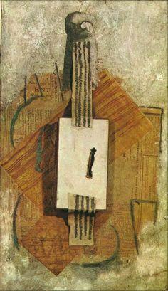 TICMUSart: Violin - Pablo Picasso (1913) (I.M.)