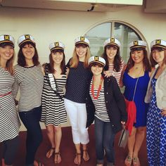 Coordinating Bachelorette Party Outfits