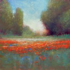 Quiet Meadow is a nice impressionist style oil painting created with palette knives and brushes. My focus on this piece was to create something with beautiful light and atmosphere.  Another one of ...