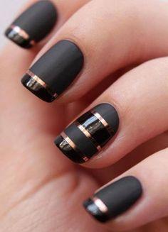 Pretty Modern nail designs for Teens
