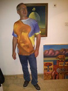 Ruben Cukier T-shirt design.