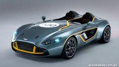 Aston Martin's radical CC100 Speedster Concept