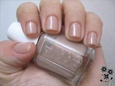 New fave polish ever!!! Yes. Essie Au Natural
