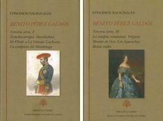 Episodios Nacionales. Tercera serie / Benito Pérez Galdós ; edición de Ermitas Penas - Madrid : Fundación José Antonio De Castro, D.L. 2016 - 2 vol