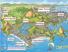 11 Best Rio de Janeiro Maps images | Old maps, Rio de Janeiro ...