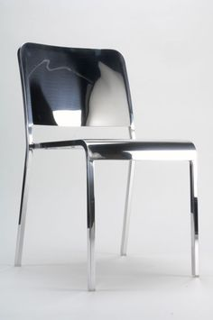"Norman Foster 75th Birthday ""Light"" Emeco 20-06 Chair - norman is one of the world's greatest living architects"