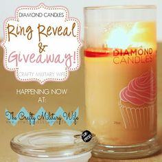 ! The Crafty Military Wife™ !: Diamond Candle Review & Giveaway!!