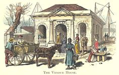 Vendue House, Nassau Bahamas, where slaves were sold...