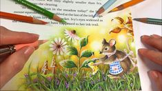 Little Mouse - Ivy and The Inky Butterfly   Chris Cheng Coloring
