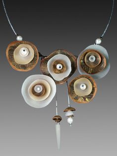Organic nested necklace by Laura Tabakman, via Flickr