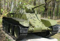 Tank photo Soviet BT-7