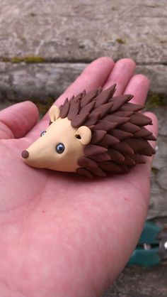 MADE TO ORDER Polymer clay hedgehog by ARAartisticcreations