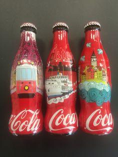 2015 İstanbul Coca-Cola şişe seti