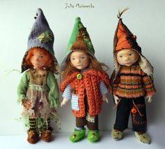 Julia Moiseenko HANDMADE: Сразу три гномика / Three Gnomes