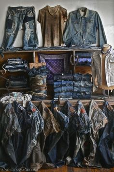Denim collection