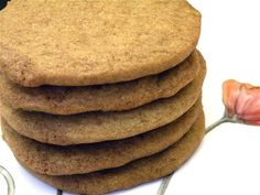 Butterscotch Refrigerator Cookies at The Hungry Mouse