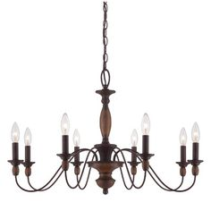 Harrison Lane Empress 5 Light Candle-Style Chandelier & Reviews | Wayfair