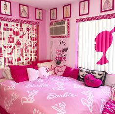pink barbie images, image search, & inspiration to browse every day. Barbie Bedroom Set, Barbie Room, Glam Bedroom, Girls Bedroom, Barbie Theme, Barbie Barbie, Girl Rooms, Teen Room Decor, Room Ideas Bedroom