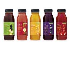 Design, Packaging & Branding of Waitrose Lovelife - Pearlfisher Juice Packaging, Beverage Packaging, Brand Packaging, Packaging Design, Branding Design, Packaging Ideas, Juice Smoothie, Smoothies, Strawberry Blueberry