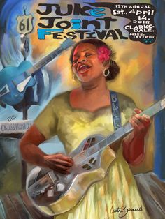 Jazz Festival, Festival Posters, Concert Posters, Jazz Art, Delta Blues, Blue Poster, Blues Clues, Guitar Art, Blues Music