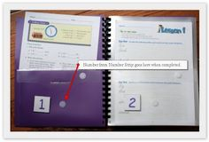 Jolanthe's workbox system uses folders instead of bins or tubs in order to save on space. Jolanthe says: While I love the Workbox System and understand Lesson Plan Organization, School Organization, Organizing, Fun Learning, Teaching Kids, Workbox System, Work Folders, Mini Office