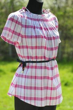 patron blusa dama de la talla 32 a a 52, esta en Polaco