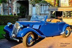 Citroën Traction avant cabriolet Bonjour :)  La Citroën Traction Avant est une automobile produite par le constructeur français Citroën de 1934 à 1957. ... - Jean-Michel Floret - Google+