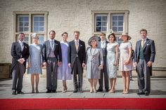 Luxembourg Grand Ducal family at the National Day