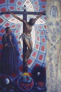 Jean-Pierre Alaux - Crucifixion