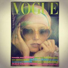 August 1973. Springtime, dreamtime.  www.vogue.com.au