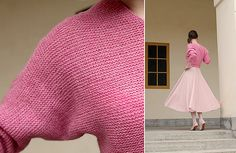 Ravelry: Slitted Sweater pattern by Anna & Heidi Pickles