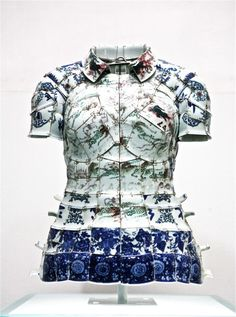 Porcelain polo by Li Xiaofeng  for Lacoste