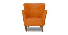 Happy Papaya Orange Armchair