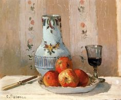 Camille Pissarro - Still Life with Apples                                                                                                                                                                                 Plus