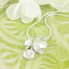 Personalised Blossom Flower Necklace