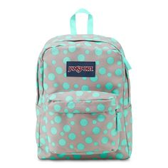 JanSport Superbreak Girly School Backpack B1020: Grey Rabbit Sylvia Dot * Read more reviews of the product by visiting the link on the image.