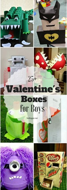 25+ Valentine Boxes for boys | NoBiggie.net