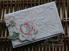 Altenew Peony Bouquet Stamps and Dies