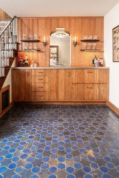 arts and crafts floor tile functions to