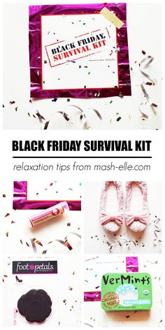 EVERYTHING you need to survive Black Friday!