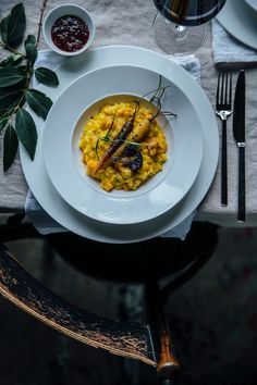 pumpkin-risotto with caramelized carrots and cauliflowers: our third gathering for villeroy