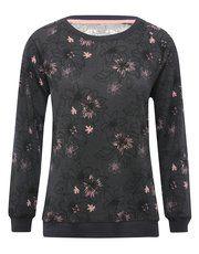 Floral print loungewear top