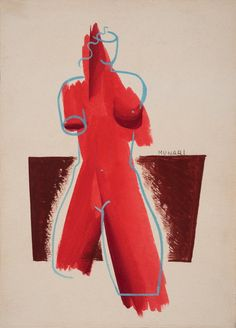 Bruno Munari (1907-1998) Futurist, 1931 Tempera on cardboard.