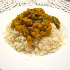 Cozinhar sem Lactose: Caril de lentilhas