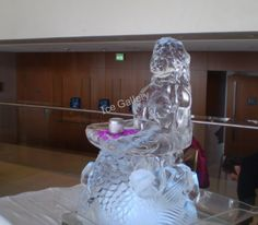 Self employed job ideas by our company in the ice sculpture industry. High ROI months) and gross margins more than Self Employed Jobs, Easy Business Ideas, Mermaid Shell, Ice Molds, Mermaid Jewelry, Ice Sculptures, Snow And Ice, Sea Shells, Mermaids