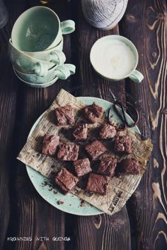 Quinoa brownies